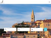 Frontpage screenshot for site: Bovi - Tourist Agency Vrsar (http://www.bovi.hr)