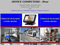 Slika naslovnice sjedišta: Office computers - Hvar (http://www.office-computers.hr)