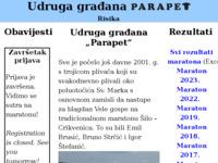 Slika naslovnice sjedišta: Udruga građana (http://www.parapet.hr)