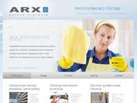 Slika naslovnice sjedišta: Servis za čišćenje, Usluge čišćenja, Profesionalno čišćenje ARX (http://arx.hr)