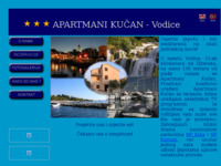 Frontpage screenshot for site: Apartmani Kucan - Vodice (http://www.apartmanikucan.hr)