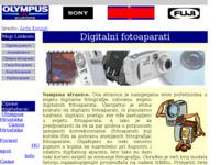 Slika naslovnice sjedišta: Digitalni fotoaparati (http://free-du.htnet.hr/digital/)