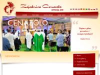 Slika naslovnice sjedišta: Zajednica Cenacolo, Hrvatska (http://www.zajednicacenacolo.hr)