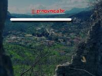 Frontpage screenshot for site: Žrnovnica online (http://www.zrnovnica.hr)