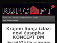 Slika naslovnice sjedišta: Koncept DM (http://www.monticola.hr)