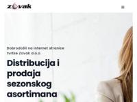 Slika naslovnice sjedišta: Zovak d.o.o. - Veleprodaja (http://www.zovak.hr)