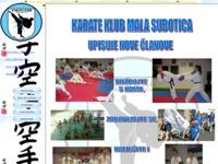 Slika naslovnice sjedišta: Karate klub Mala Subotica (http://www.karate-malasubotica.hr)