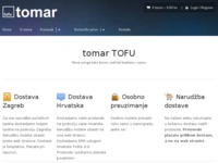 Frontpage screenshot for site: Tomar - Tofu master (http://www.tomar.hr)