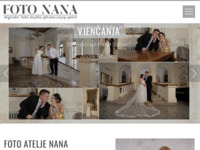 Frontpage screenshot for site: (http://www.fotonana.hr)