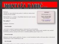 Slika naslovnice sjedišta: Montaža Babić (http://www.montaza-babic.hr)