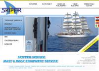 Frontpage screenshot for site: Skiper d.o.o. (http://www.skiperzadar.hr)