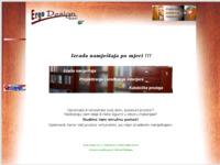 Slika naslovnice sjedišta: Ergo Design d.o.o. (http://www.ergodesign.hr)