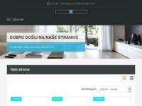 Frontpage screenshot for site: Nekretnine-Kolar (http://www.nekretnine-kolar.hr/)