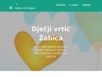 Frontpage screenshot for site: Dječji vrtić Žabica - Otok (http://djecjivrticzabica.hr/)