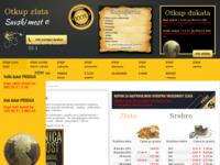 Frontpage screenshot for site: Otkup zlata (http://otkup-zlata-srebra.com/)