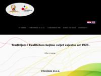 Slika naslovnice sjedišta: Chromos d.d. (http://www.chromos.hr)