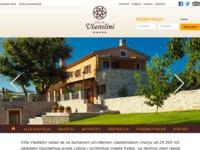 Frontpage screenshot for site: Villa Vlastelini (http://www.villa-vlastelini.com/)