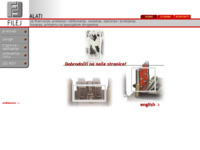 Frontpage screenshot for site: Filej d.o.o. projektiranje, proizvodnja, trgovina i usluge (http://www.filej.hr)