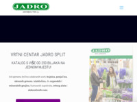 Slika naslovnice sjedišta: Jadro Split (http://www.jadro-split.hr)