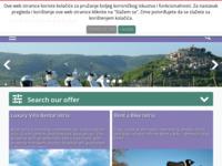 Frontpage screenshot for site: Montona tours, Motovun (http://www.montonatours.hr)