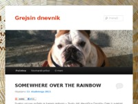 Frontpage screenshot for site: Grejsin dnevnik (http://gordana-brzak.from.hr)