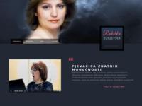 Frontpage screenshot for site: Rahilka Burzevska (http://www.rahilkaburzevska-glazbenica.hr)