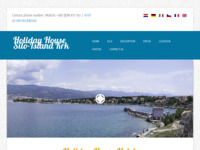 Frontpage screenshot for site: (http://www.holidayhouse-krk.com)