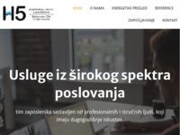Slika naslovnice sjedišta: H5 d.o.o. (http://www.hpet.hr)