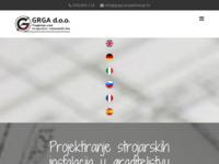 Slika naslovnice sjedišta: Grga d.o.o. (http://www.grga-projektiranje.hr)