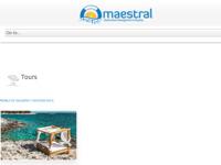 Frontpage screenshot for site: Turistička agencija Maestral (http://www.maestral.hr)