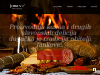 Frontpage screenshot for site: Seoski turizam i ugostiteljstvo (http://www.jankovic.hr/)