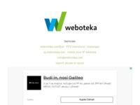 Frontpage screenshot for site: Weboteka.net - hosting i domene (http://www.weboteka.net)