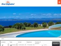 Frontpage screenshot for site: Hvar Unlimited - najam smještaja (http://www.hvar-unlimited.com)
