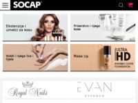 Slika naslovnice sjedišta: SoCap Original (http://www.socap.hr)