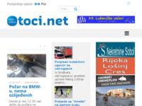 Frontpage screenshot for site: Otoci.net (http://otoci.net)