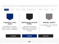 Slika naslovnice sjedišta: Organochem d.o.o. Zagreb (http://www.organochem.hr)