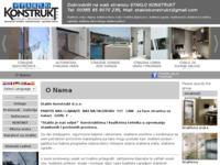 Slika naslovnice sjedišta: Staklo Konstrukt d.o.o. (http://www.staklo-konstrukt.hr)