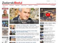 Frontpage screenshot for site: Zadarski bodul (http://www.zadarskibodul.com)