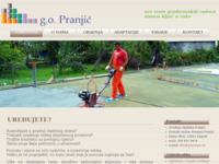 Slika naslovnice sjedišta: Građevinski obrt Pranjić (http://www.gopranjic.hr)