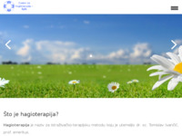Slika naslovnice sjedišta: Centar za hagioterapiju - Split (http://hagioterapija-split.hr)