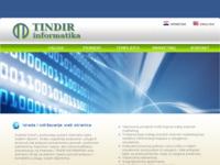 Slika naslovnice sjedišta: Tindir informatika (http://www.tindir-informatika.hr)