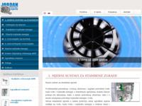 Frontpage screenshot for site: (http://www.jordanmjerila.hr)