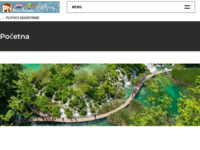 Frontpage screenshot for site: Plitvice Nekretnine web (http://www.plitvice-nekretnine.hr)
