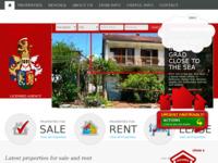Frontpage screenshot for site: Hvar Agencija za nekretnine - Želja d.o.o. (http://hvar-properties.com)