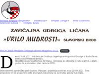 Slika naslovnice sjedišta: Zavičajna udruga Ličana (http://www.vrilo-mudrosti.hr)