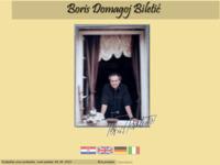 Frontpage screenshot for site: Boris Domagoj Biletic (http://www.boris-biletic.iz.hr)
