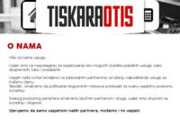 Slika naslovnice sjedišta: Tiskara Otis - Poreč (http://www.tiskaraotis.hr)