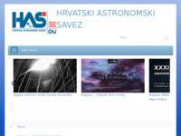 Slika naslovnice sjedišta: Hrvatski astronomski savez (http://www.astronomskisavez.hr)