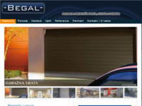 Frontpage screenshot for site: Begal (http://www.begal.hr)
