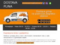 Slika naslovnice sjedišta: Dostava plina (http://www.energotim.hr)